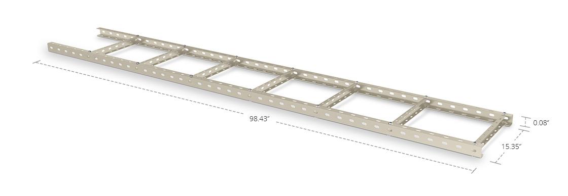 Steel U Cable Ladder  400mm U Steel Cable Ladder Support Frame Kit
