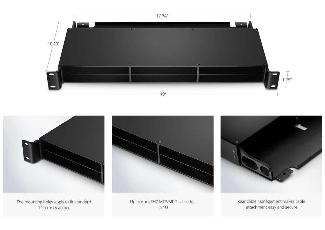 Rack Mount Enclosures Professional Design, for Your Ultra High Density Demands