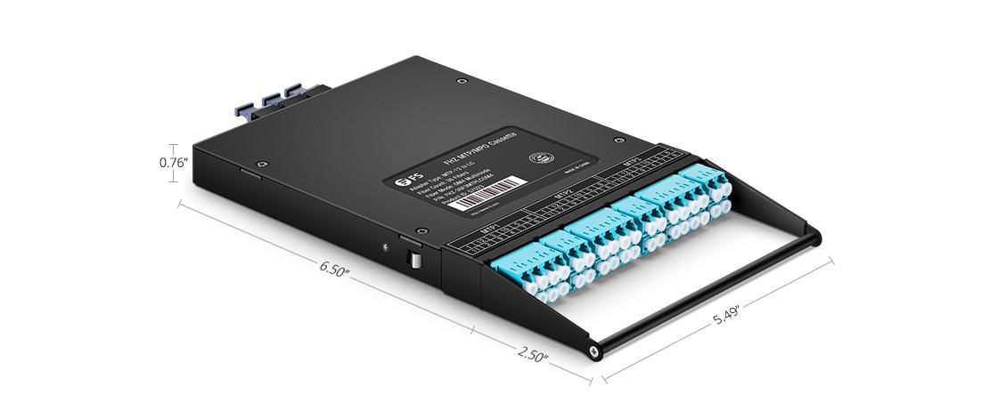 LWL-Kassetten MTP®-Kabelführung der neusten Generation