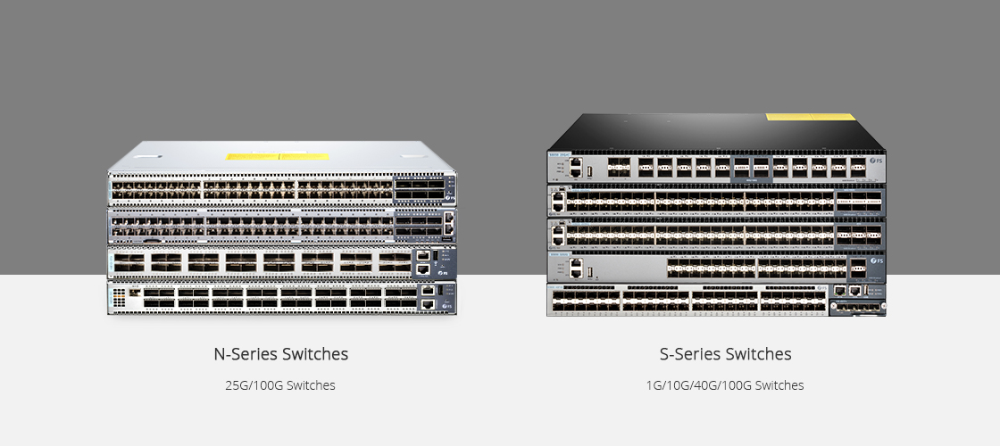 Switches 40 Gigabit Ethernet Gama N VS Gama S