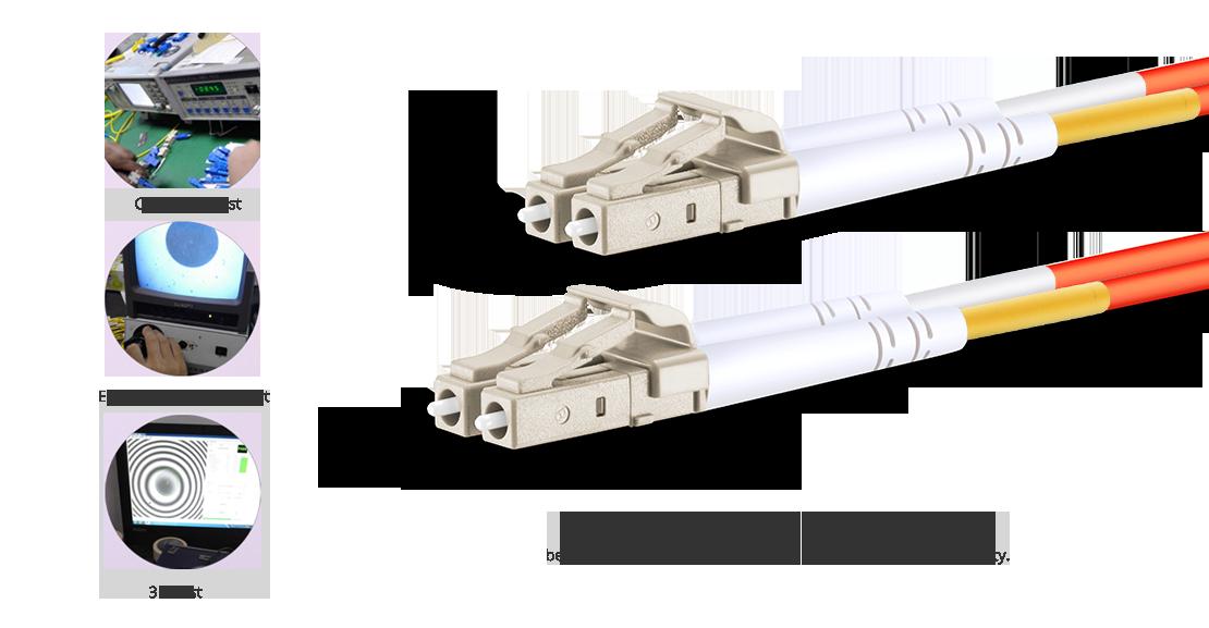 OM1 62,5/125 Multimode  Garantie für hochwertiges LWL-Patchkabel