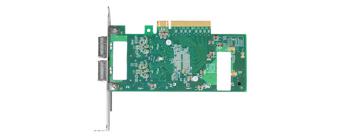 Adaptadores PCIe 100G  Adaptadores de servidor QSFP + 40G de 2 puertos con QConectividad SFP +