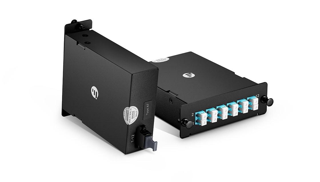 LWL-Kassetten Kompakte Bauweise für maximaler Verkabelungsdichte
