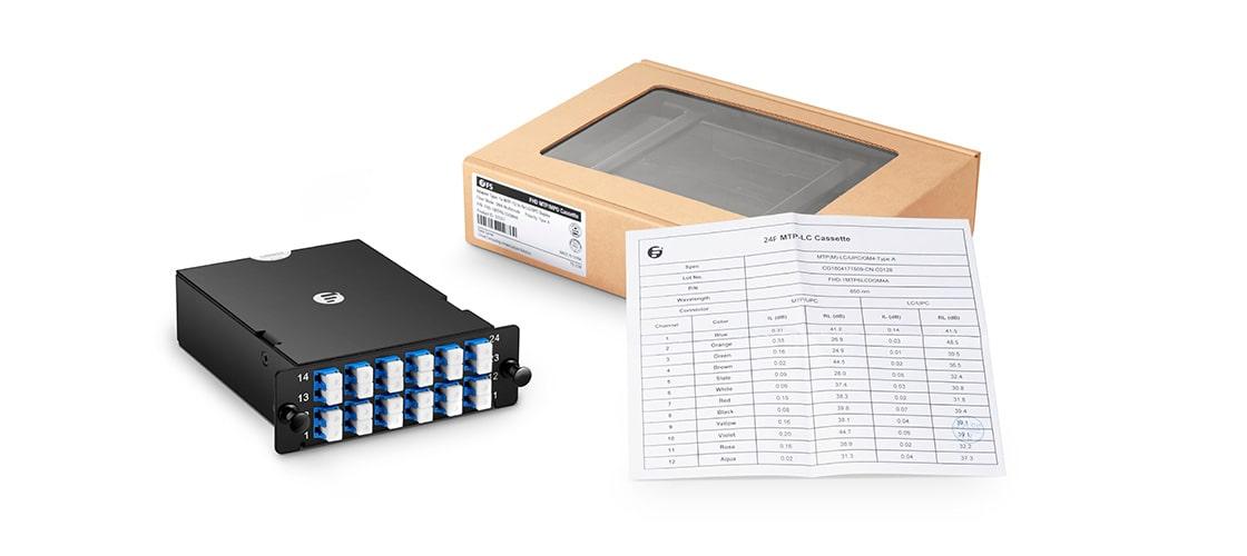 FHD MTP-LC Kassetten  Verpackung & Prüfbericht