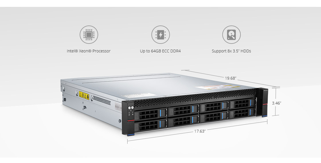 Servers  2U Rack Server Optimized for Enterprise Applications