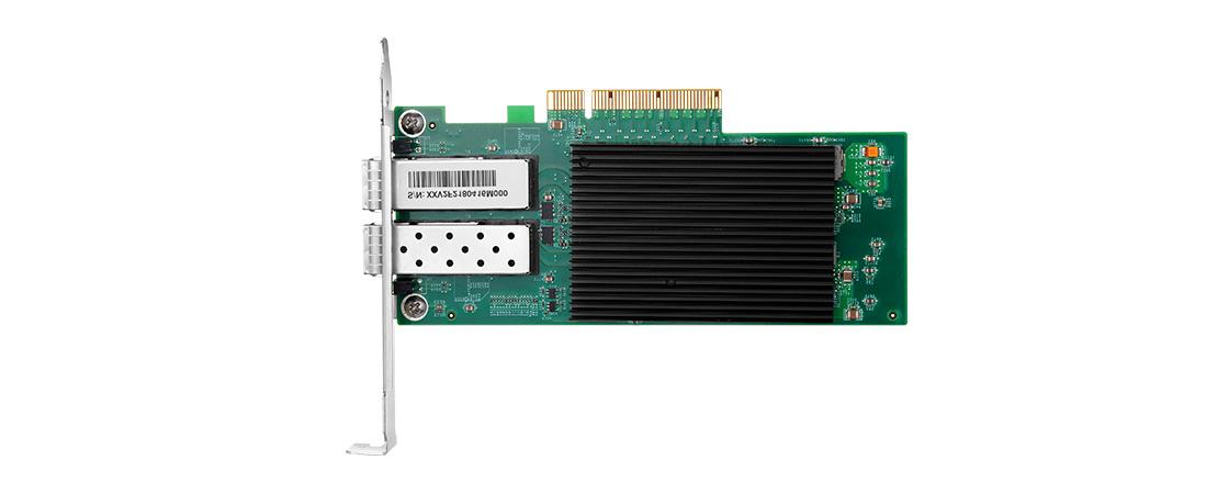 Adaptadores PCIe 25G  Adaptadores de servidor SFP28 25G de 2 puertos con conectividad SFP28