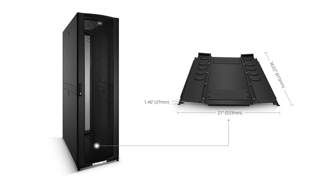 Shelves & Accessories  Block Airflow Under the Cabinet