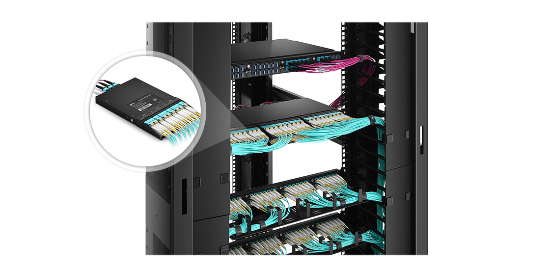 FHZ MTP/MPO Cassettes  Infinite Possibilities with FHZ Solutions for Data Centers
