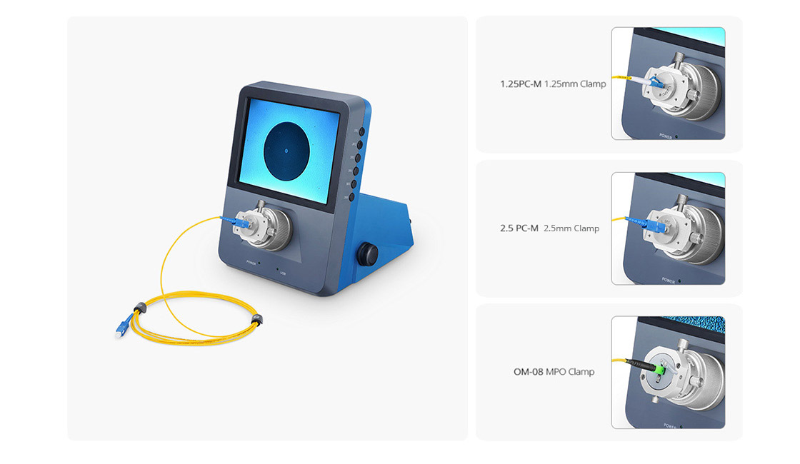 Fiber Optic Inspection Cost-effective Device Used For MTP/ LC/SC Connector