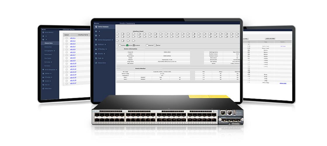 Switches de distribución para LAN  Facilidad de gestión