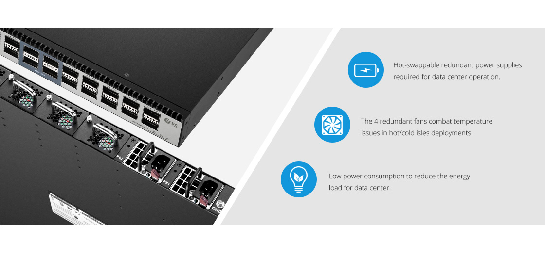 Switches 100G  Diseño de hardware de alta disponibilidad