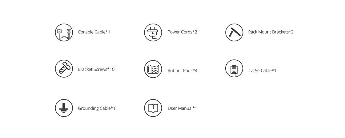 100G Switches  Accessories List