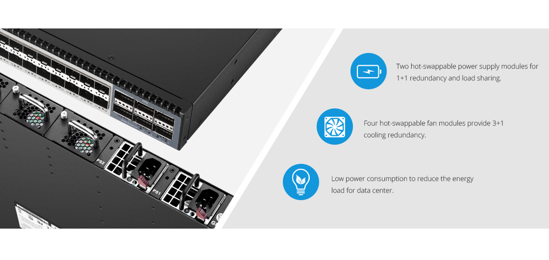 10G Switches  High Availability and Flexibility