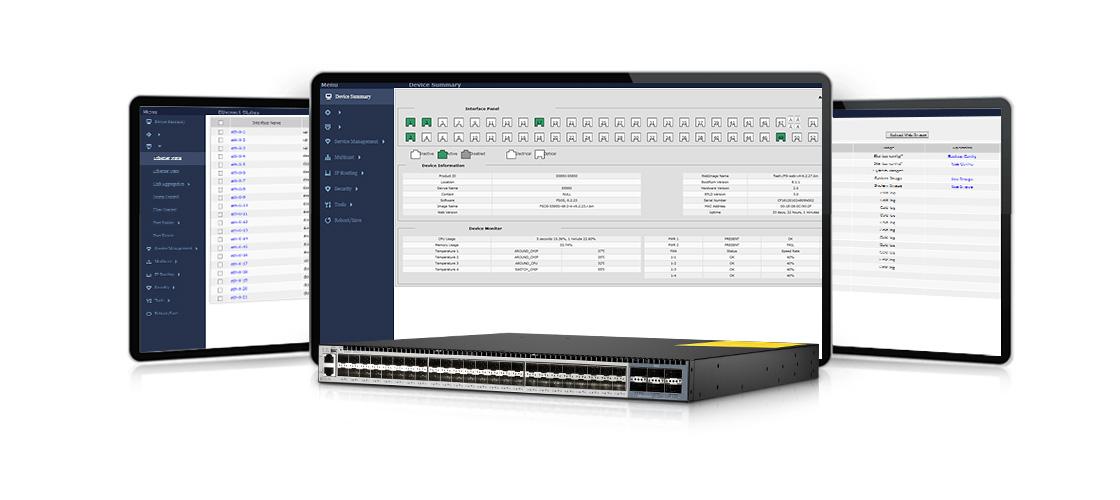 Switches 10G  Gestión simple y funciones potentes