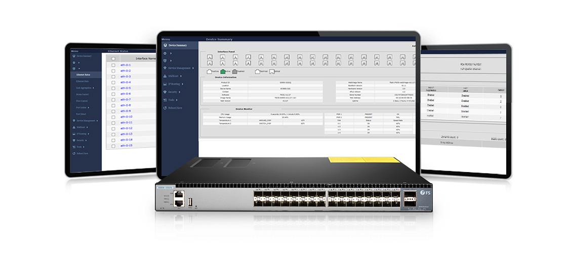 Switches 10 Gigabit Ethernet  Extensible Sistema operativo