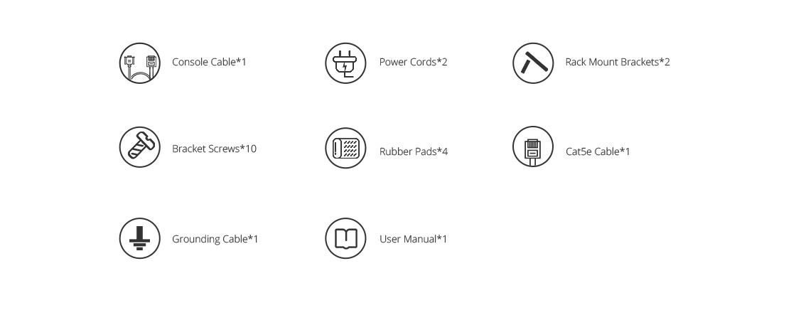 10G Switches  Accessories List