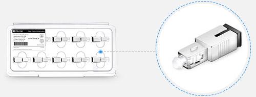 Atténuateurs Optiques 3. Emballage conçu minutieusement pour la livraison sans dégât