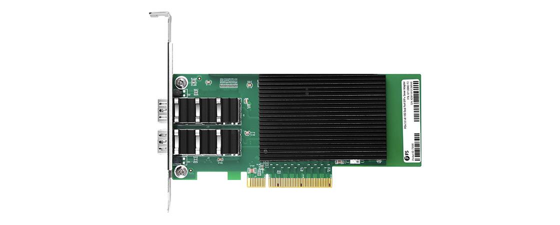 10G PCIeアダプター  2ポートSFP+10Gサーバーアダプター(SFP+接続性付き)