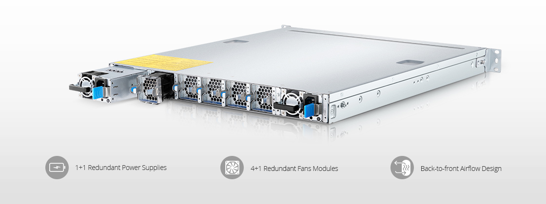 100G Switches Highly Reliable Industry-grade Hardware Architecture
