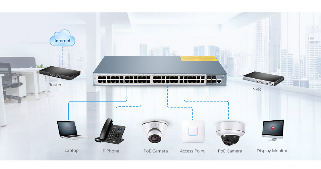 1G & PoE Switches  Build a Powerful, Easy-to-Use Basic Business Network