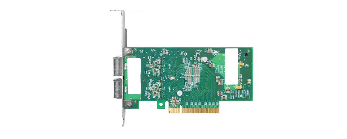 40G PCIe アダプター  2ポートQSFP+40Gサーバーアダプター(QSFP+接続付き)