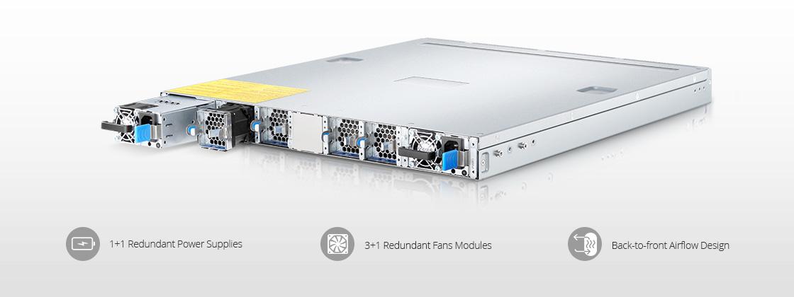 Switches Cumulus OS Arquitectura de hardware de grado industrial altamente confiable