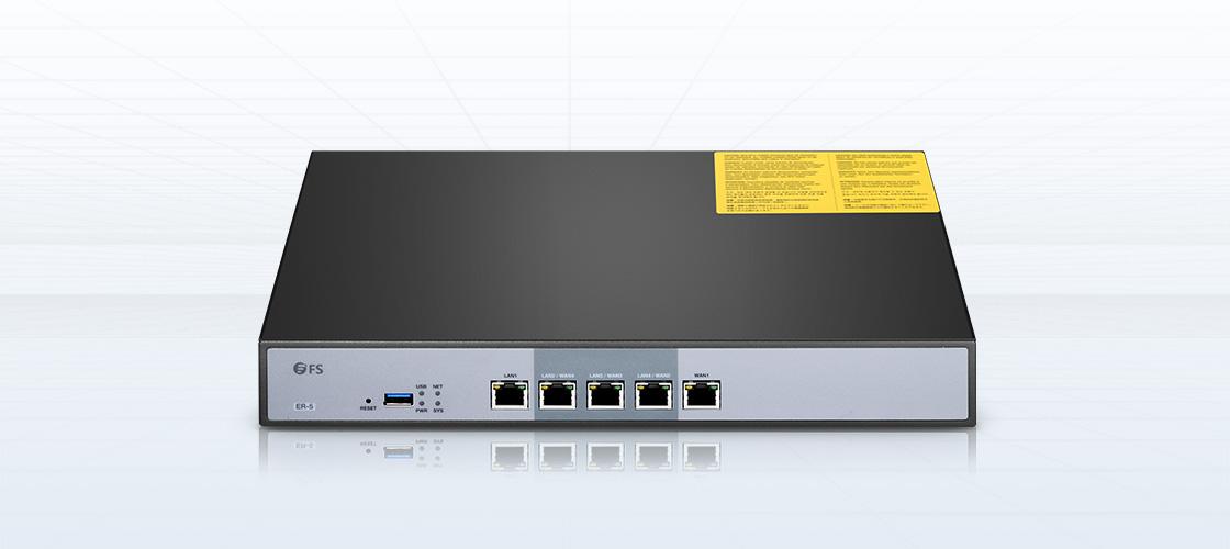 Routeurs d'Entreprise  Simplifiez les Réseaux Complexes avec les Routeurs de classe d'Entreprise Intelligents de FS