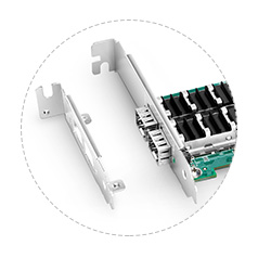Adaptadores PCIe 10G Flexible Bracket Height
