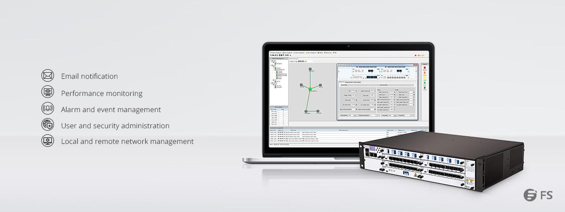 WDM Transport Networks  FMT-Gerätemanagementsystem