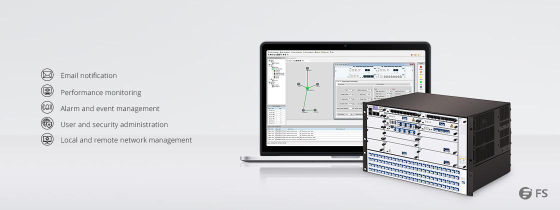 Plataforma de Transporte WDM  Sistema de gestión de equipos FMT