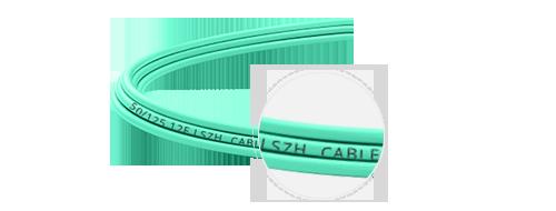 Cables breakout MTP-LC  Bajo humo y cero halógeno