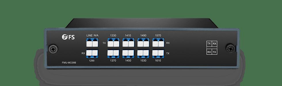 CWDM Mux Demux  Мультиплексор Mux/Demux 9-Канальный через Одно Волокно в Паре