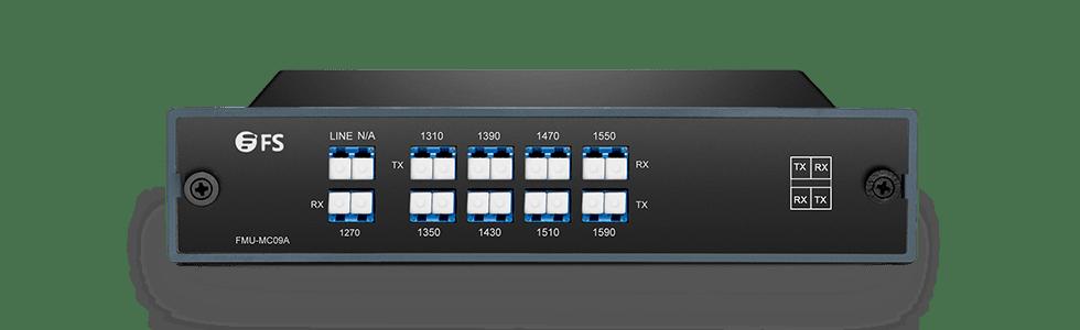 CWDM Mux Demux  Mux/Demux 9 Channels Single Fiber in a Pair