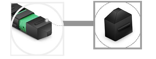 Fibre Loopback  Dustproof Function