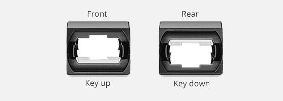 FHD LC SC MTP FAPs Key Up-Key Down Adapter