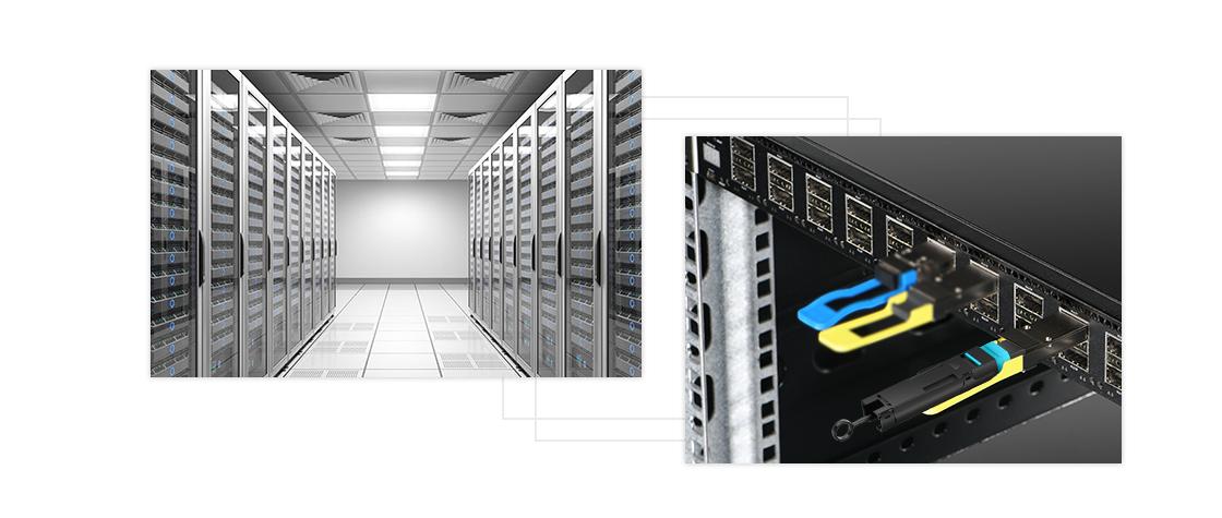 Loopback-Kabel   Anwendung im Rechenzentrum