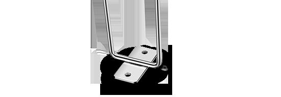 Vertikaler Kabelmanager Standard-EIA-Lochabstand