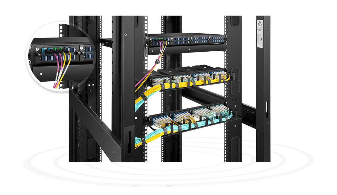 FHD LC SC MTP FAPs  Small Form Factor Patching for Fiber Optic Backbones