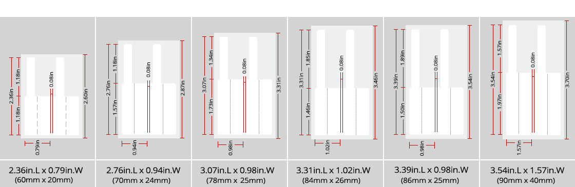 Cable Labels A Variety of Lable Sizes for Choosing