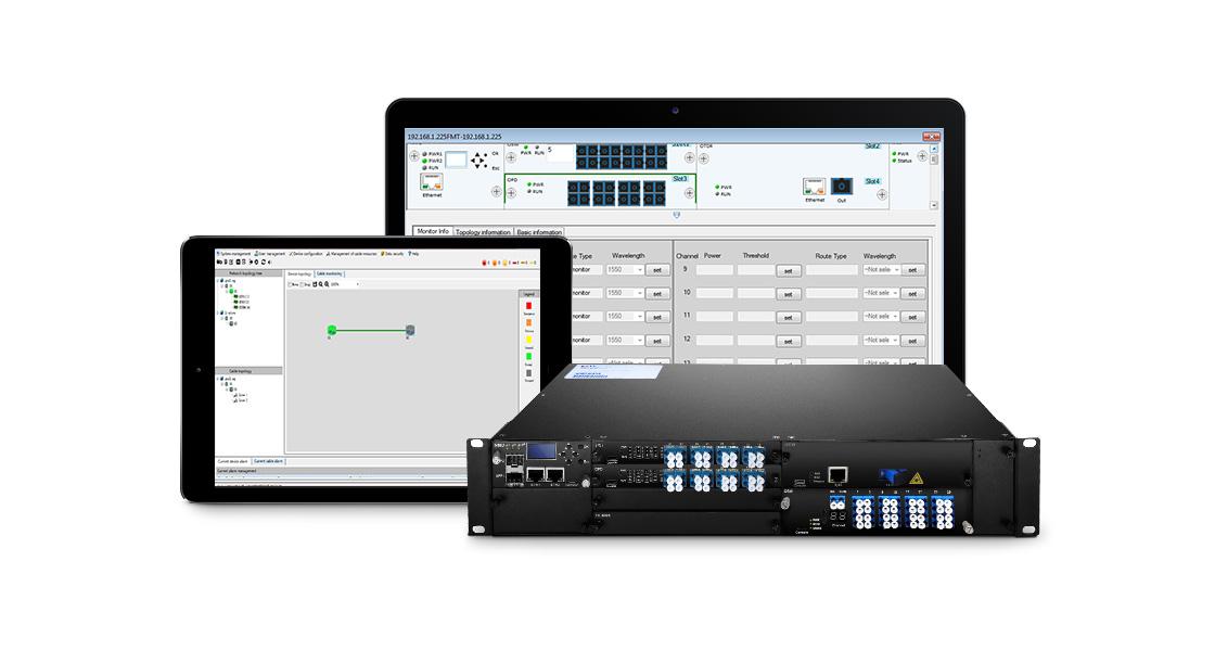 Sistema de automatización  FS Powerful Cable Monitor Sistema de gestión en línea