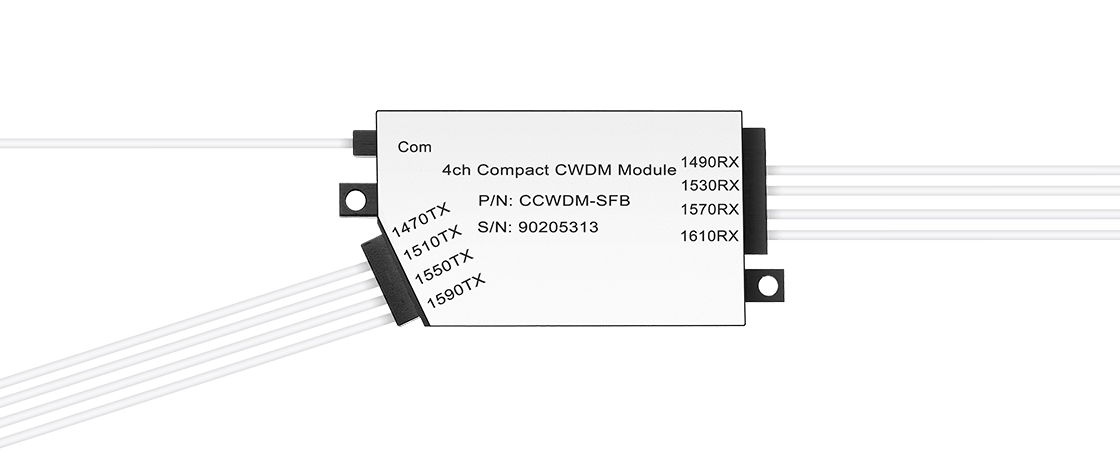 Low Loss CCWDM Module  Kompakte CWDM Mux Demux