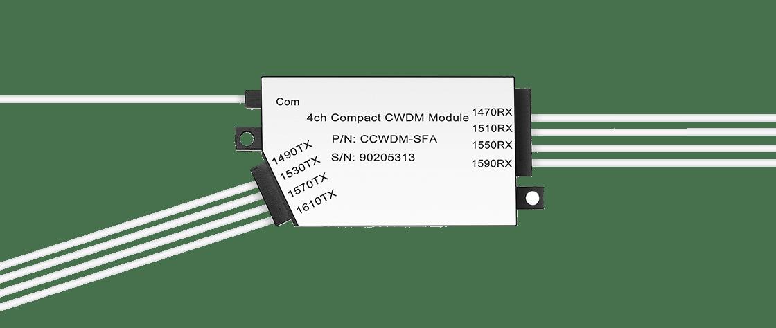 Low Loss CCWDM Module  Compact CWDM Mux Demux