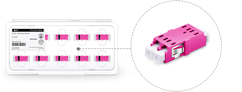Adaptateurs/Coupleurs Fibres Optiques  Emballage avec Design Élaboré