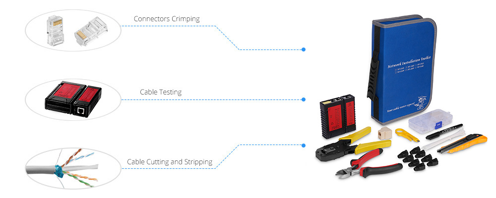 Network Tool Kits  Wide Range of Applications