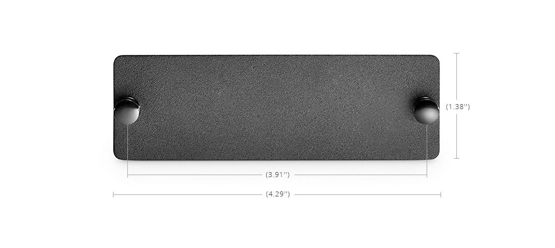 Panneaux d'Adaptateur LC SC MTP® FHD La Plaque Vide Réserve de l'Espace pour l'Expansion Future