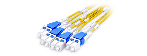 Customized MPO Fiber Cables 0.2 dB Low Insertion Loss LC Connector