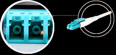 FHX MPO-LC Kassetten  Identifizierung von LC-Duplex-Adapter-Port