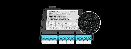 FHX MPO-LC Cassettes The Flame Retardant Grade-ABS UL94 V0