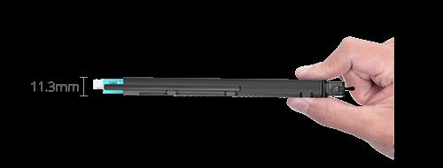 FHX MPO-LC Cassettes  Ultra-thin Design