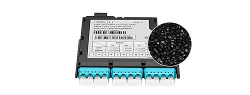 FHX MPO-LC Kassetten Das schwer entflammbare ABS UL94 V0